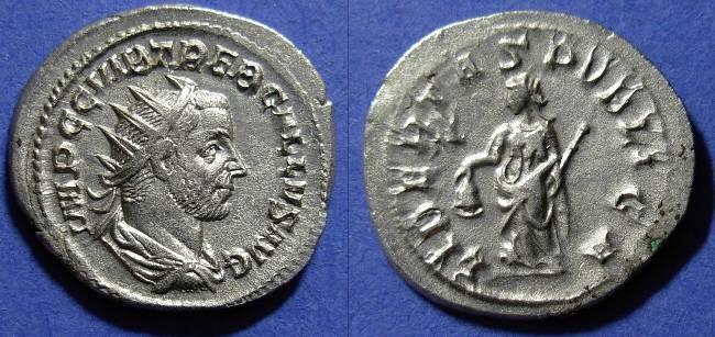 Ancient Coins - Trebonianus Gallus - 251-3 Antoninianus