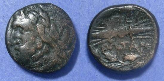 Ancient Coins - Epeirote Republic,  148 - 50 BC, AE18