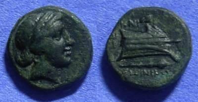 Ancient Coins - Knidos Caria AE13 – Circa 250 BC