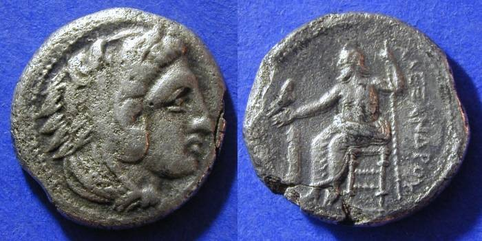 Ancient Coins - Macedonian Kingdom - Alexander III (the Great) 336-323 - Budget Lifetime Tetradrachm
