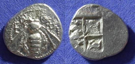 Ancient Coins - Ephesos - Drachm 500-420 BC