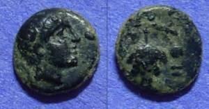 Ancient Coins - Perperene Mysia AE9 – Circa 150 BC