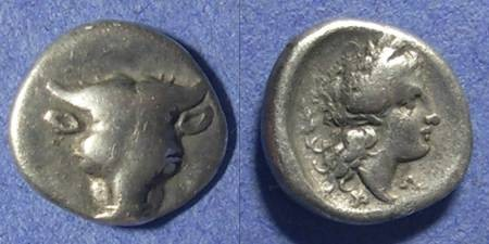 Ancient Coins - Phokis,  357-346 BC, Hemidrachm