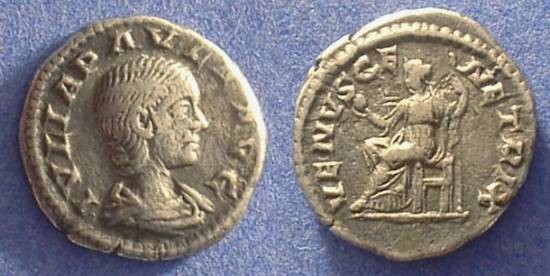 Ancient Coins - Julia Paula (First wife of Elagabalus) 219-220AD
