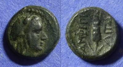 Ancient Coins - Amphipolis Macedonia AE15 – Circa 150 BC