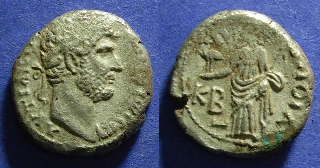 Ancient Coins - Roman Egypt, Hadrian 117-138 AD, Tetradrachm