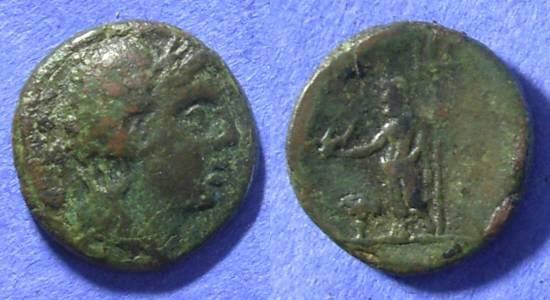 Ancient Coins - Cyclades – Tenos AE19– Circa 300-200 BC – *Lindgren plate coin*