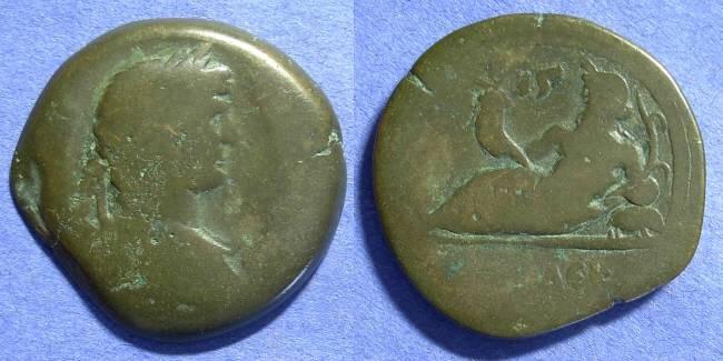 Ancient Coins - Roman Egypt – Hadrian 117-138 AD – Drachm