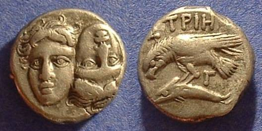 Ancient Coins - Istros Thrace - Drachm 400-350 BC