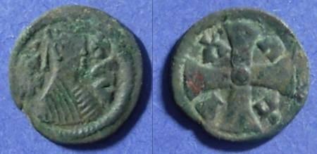 Ancient Coins - Axum, Joel Circa 600 AD, AE15