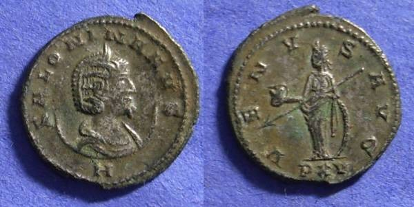 Ancient Coins - Salonina (Wife of Gallienus) 253-268 Antoninianus