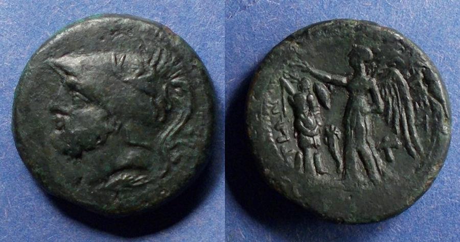 Ancient Coins - Bruttium, The Brettii 216-208 BC, AE27