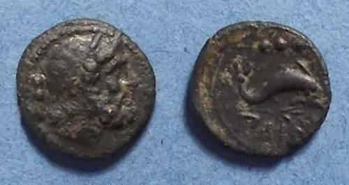 Ancient Coins - Paestum, Lucania After 180 BC, Quadrans