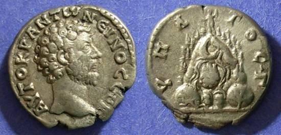 Ancient Coins - Caesarea Cappadocia, Marcus Aurelius 161-180, Didrachm
