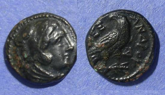 Ancient Coins - Macedonian Kingdom, Alexander III 336-323 BC, AE15