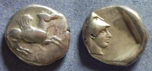 Ancient Coins - Corinth,  Circa 450 BC, Stater