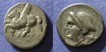 Ancient Coins - Corinth,  350-300 BC, Drachm