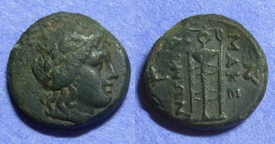 Ancient Coins - Macedonia – Anonymous 185-168 (Philip V & Perseus) AE21