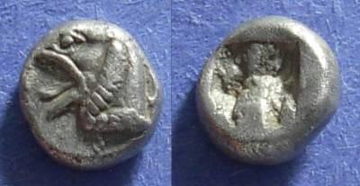 Ancient Coins - Phokaea, Ionia Circa 520 BC, Hemidrachm