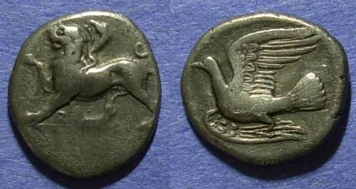 Ancient Coins - Sikyon,  400-330 BC, Hemidrachm