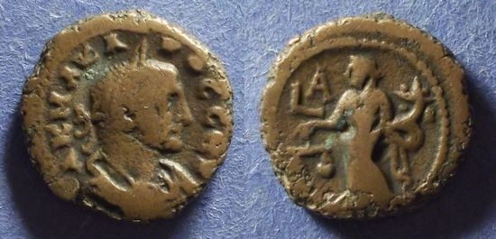 Ancient Coins - Roman Egypt, Carus 282-3, Tetradrachm