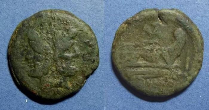 Ancient Coins - Roman Republic,  179-169BC, As