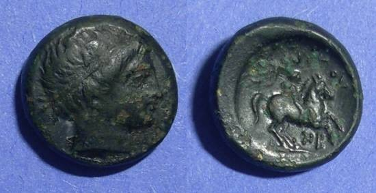 Ancient Coins - Macedonian Kingdom, Philip II 359-300 BC, AE16