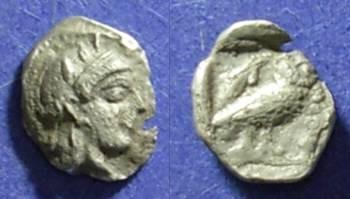 Ancient Coins - Athens,  Circa 420 BC, Obol