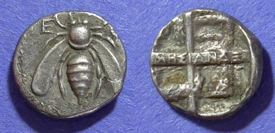 Ancient Coins - Ephesos, Ionia 340-330 BC, Drachm