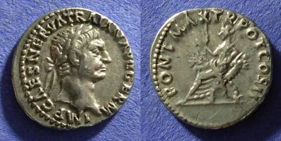 Ancient Coins - Trajan 98-117AD Denarius
