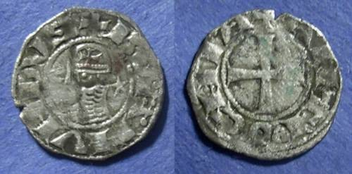 Ancient Coins - Crusader Antioch, Bohemund III 1149-1201, Denier