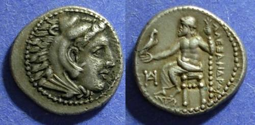 Ancient Coins - Macedonian Kingdom, Alexander III 336-323 BC, Drachm ( lifetime )