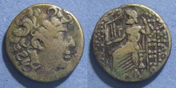 Ancient Coins - Roman Syria,  Circa 60 BC, Tetradrachm