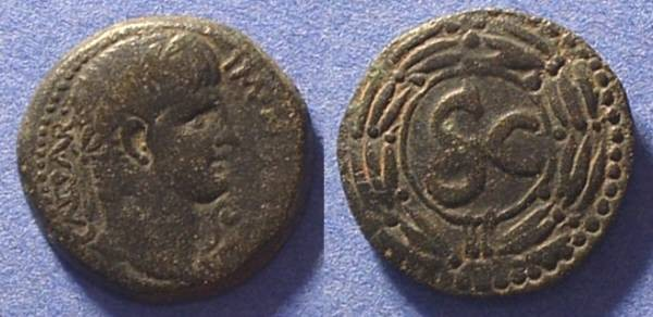 Ancient Coins - Antioch - Nero 54-68AD AE23