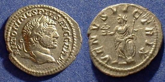 Ancient Coins - Caracalla 198-217 Denarius