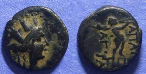 Ancient Coins - Apameia, Syria 100-50 BC, AE15