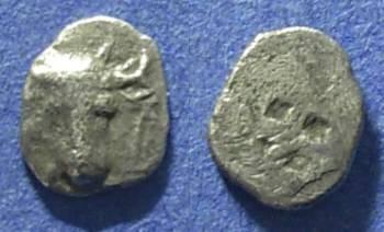 Ancient Coins - Troas, Lamponeia 500-450 BC, Hemiobol
