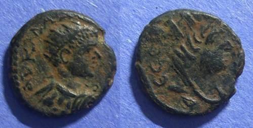 Ancient Coins - Edessa, Caracalla 198-217, AE17
