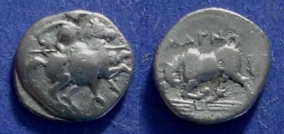 Ancient Coins - Magnesia, Ionia Circa 350BC, Diobol