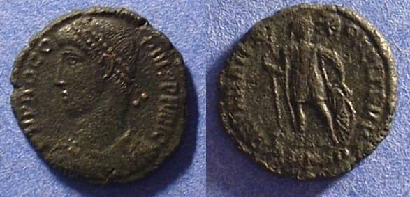 Ancient Coins - Procopius - Usurper in the east 365-6, AE-3 Nicomedia mint
