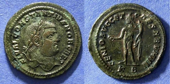 Ancient Coins - Constantius I (as Caesar) 293-305, Follis