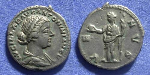 Ancient Coins - Roman Empire Lucilla (wife of L Verus) 161-169 Denarius
