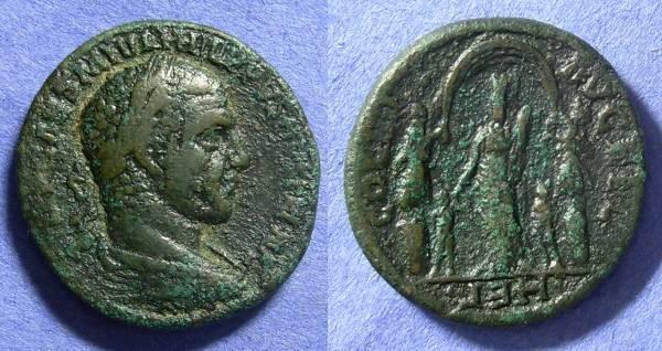 Ancient Coins - Philip 244-9 Heliopolis Syria AE29