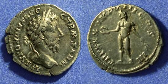 Ancient Coins - Marcus Aurelius 161-180 - Denarius