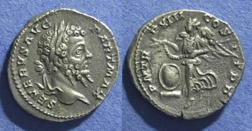 Ancient Coins - Roman Empire, Septimius Severus 193-211, Denarius