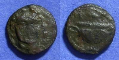 Ancient Coins - Cyclades - Anaphe AE16 Circa 250 BC