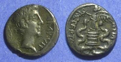 Ancient Coins - Roman Empire Octavian (Augustus) 28 BC Quinarius