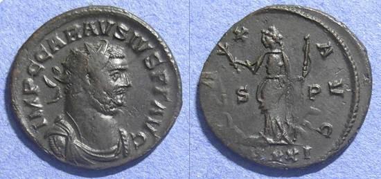 Ancient Coins - Roman Empire, Carausius 287-293 AD, Antoninianus