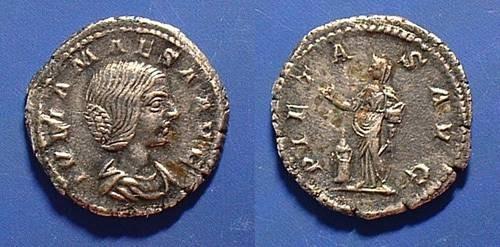 Ancient Coins - Julia Maesa D.223AD  Denarius
