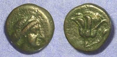 Ancient Coins - Rhodes AE11 - Circa 304 BC
